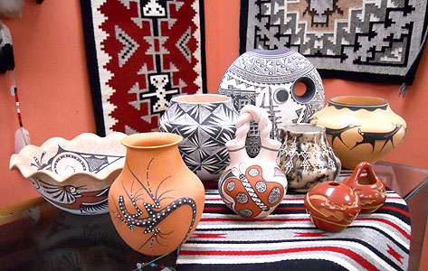 Pueblo Pottery Handcrafted Quality